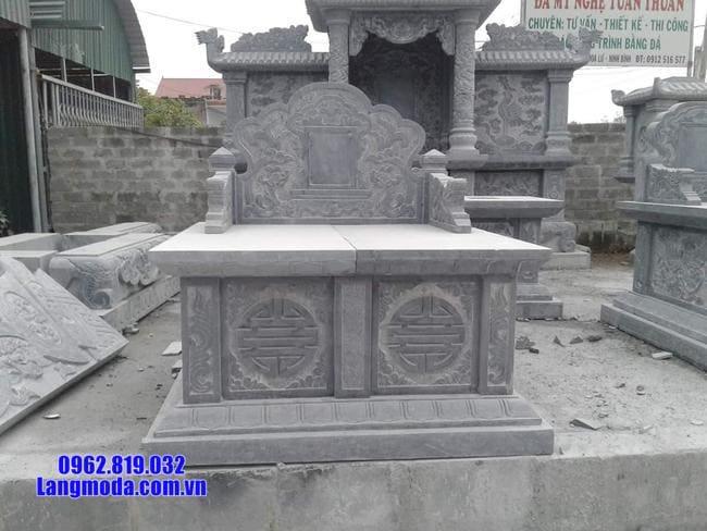 mộ đôi đá ninh bình đẹp nhất