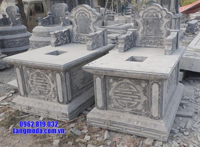 mộ tam sơn bằng đá đẹp