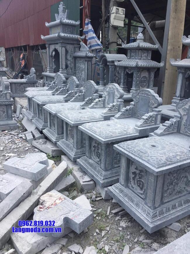 mộ tam sơn đá đẹp nhất