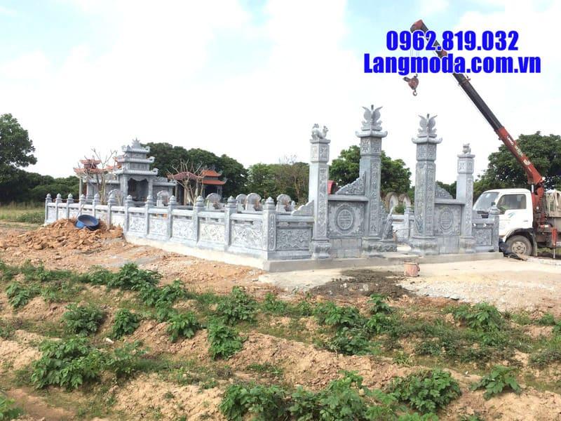 Báo giá lăng mộ đá đẹp tại Ninh Bình