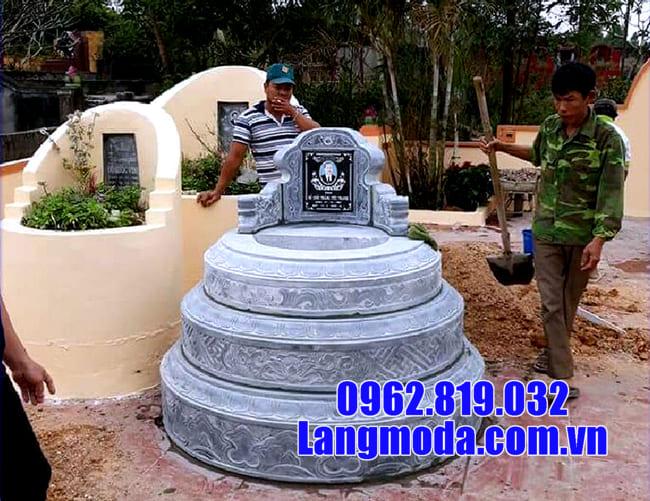 Báo giá mộ đá tròn đẹp