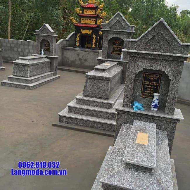Đặc điểm của các mẫu mộ đá granite