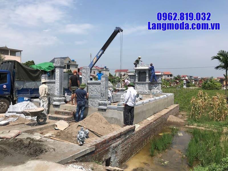 Địa chỉ lắp lăng mộ đá uy tín tại Ninh Bình