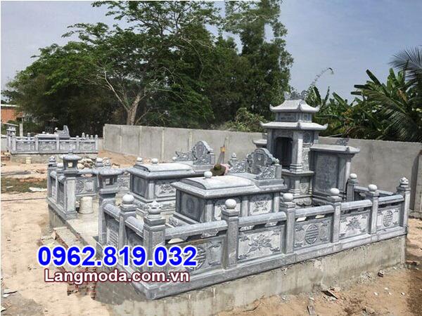 Giá thành của mộ gia đình bằng đá tự nhiên