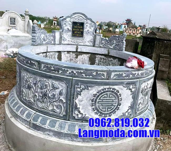 Kích thước mộ tròn