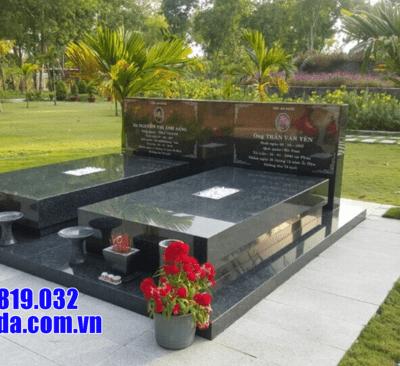 Mẫu mộ bằng đá granite