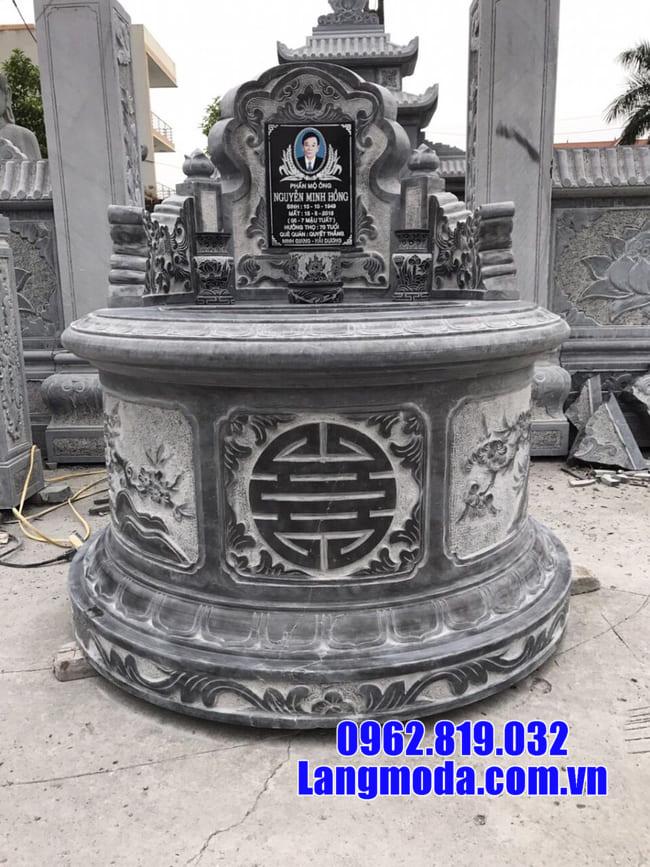 Ý nghĩa tâm linh của lăng mộ đá tròn