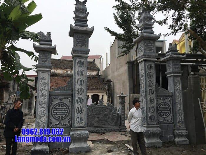 cổng bằng đá xanh đẹp nhất