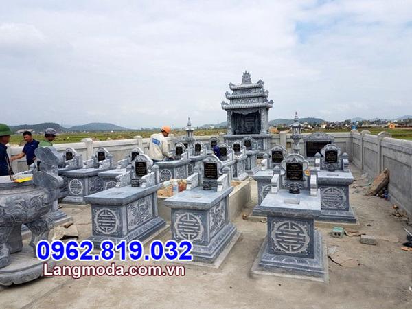 mẫu mộ gia đình bằng đá