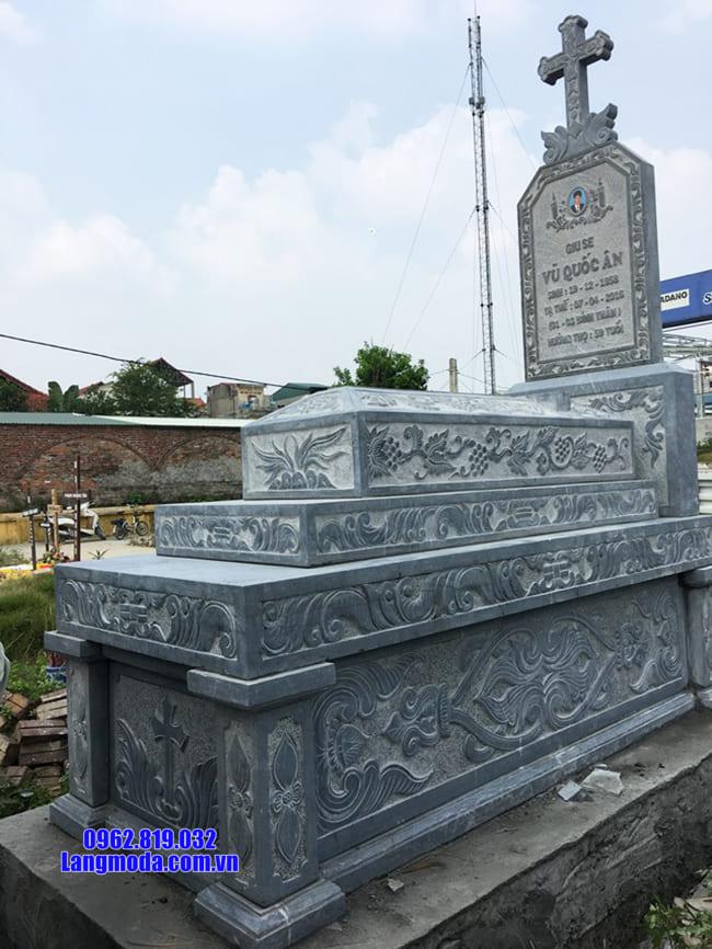 mộ của người theo đạo bằng đá đẹp