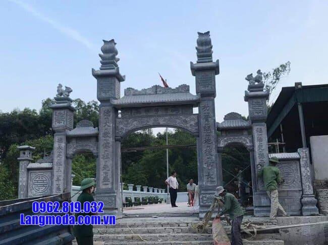 cổng chùa đẹp nhất bằng đá
