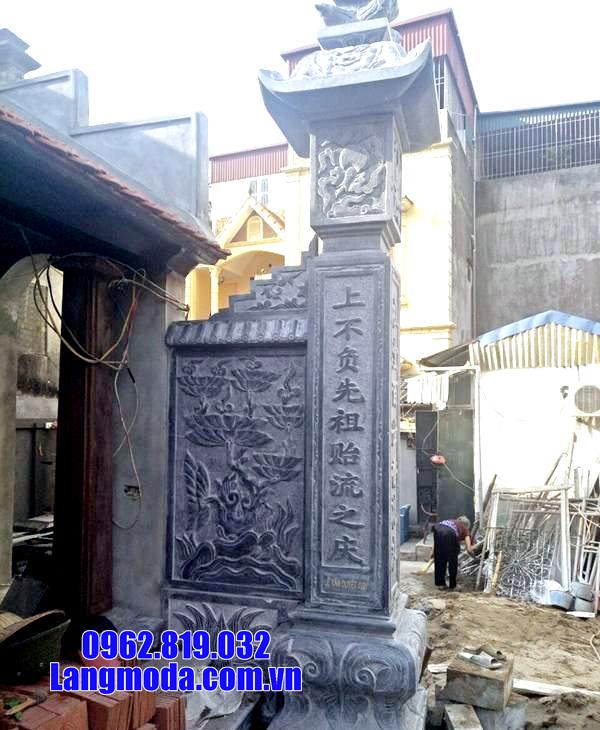 cột đồng trụ nhà thờ bằng đá đẹp nhất