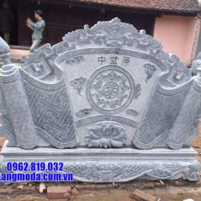 cuốn thư bằng đá tại Hà Nội