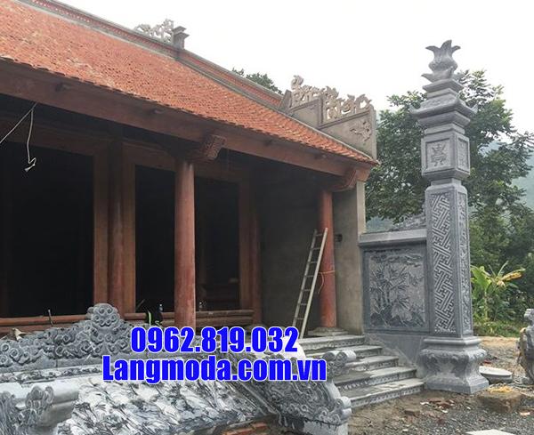 mẫu cột đồng trụ nhà thờ bằng đá