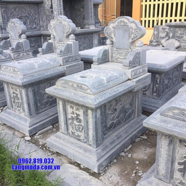 mẫu mộ bành đá xanh thanh hóa