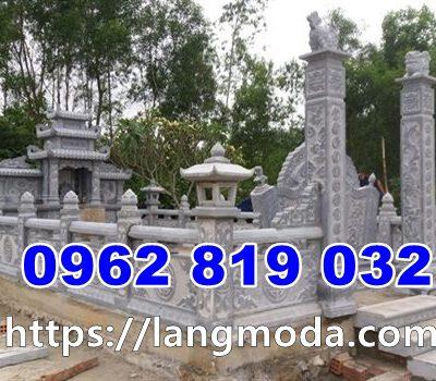 Mẫu nghĩa trang gia đình xây dựng tại thái bình