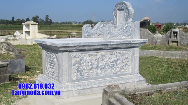mộ bành đá xanh thanh hóa đẹp nhất