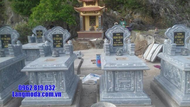 mộ bành đá xanh thanh hóa đẹp