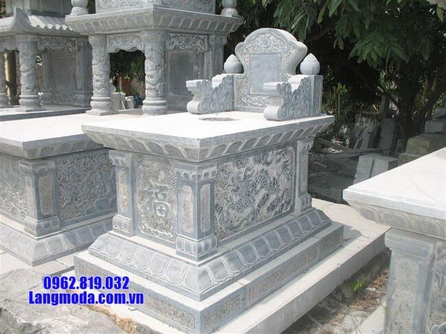 mộ bành đá xanh thanh hóa