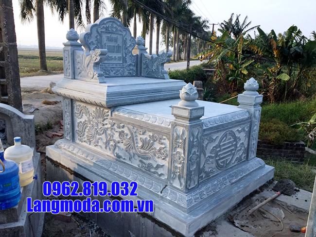 Mộ đá xanh Thanh Hóa - Các mẫu mộ bằng đá xanh Thanh Hóa đẹp nhất