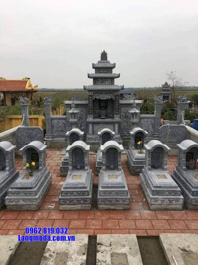 khu lăng mộ đá tại Hòa Bình đẹp