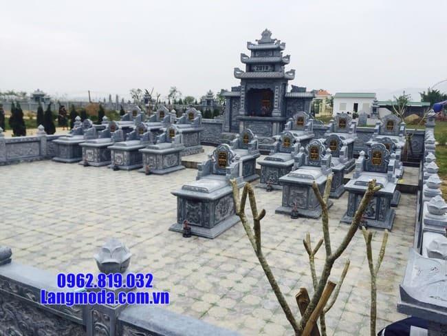 lăng mộ đá đẹp tại Hòa Bình