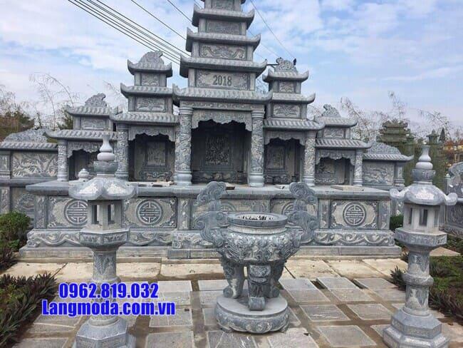 lăng mộ đẹp tại Hòa Bình