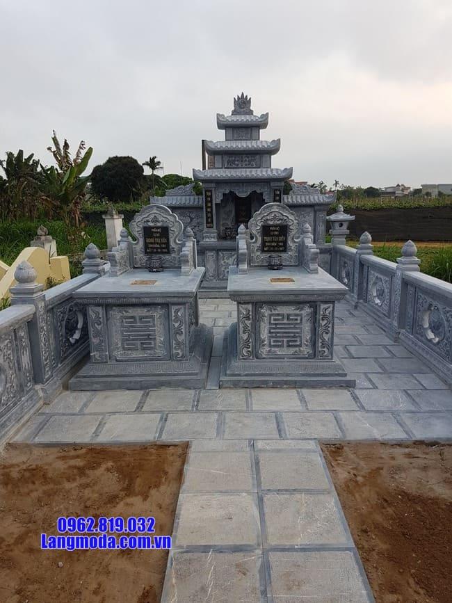mẫu khu lăng mộ đá tại Hòa Bình đẹp nhất