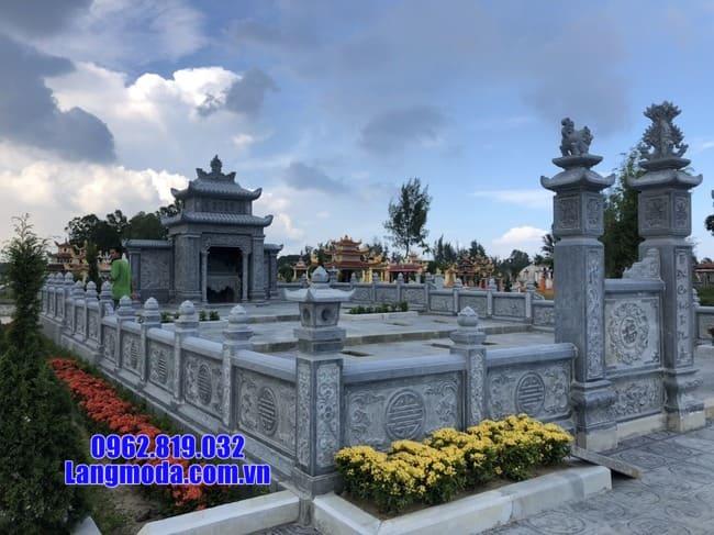 mẫu lăng mộ đá đẹp nhất tại Hòa Bình
