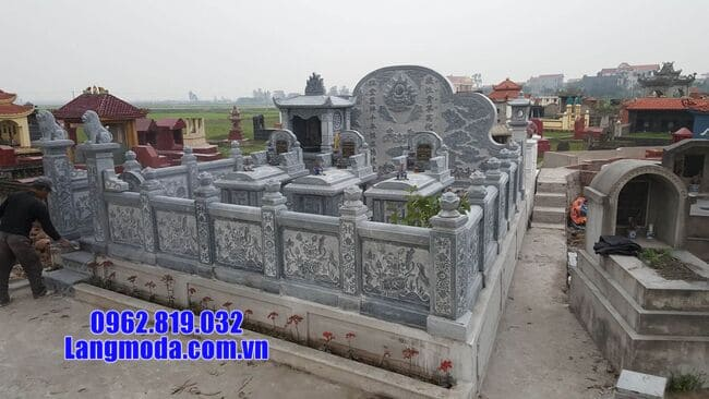 mẫu lăng mộ đá tại Hòa Bình