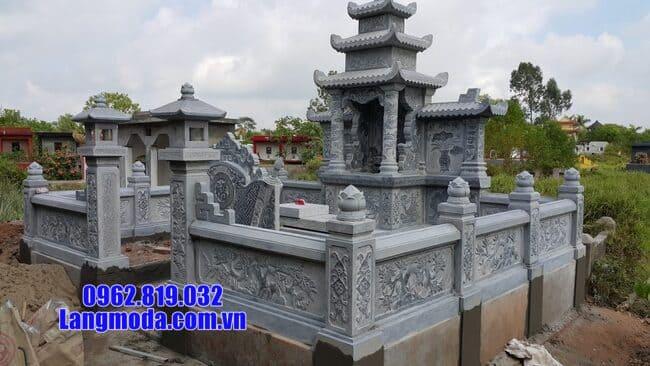 mẫu lăng mộ đẹp tại Hòa Bình