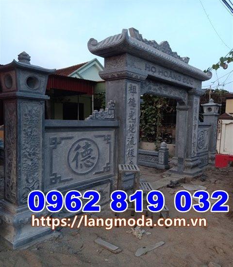 Mẫu cổng nhà thờ họ đẹp tại Quảng Ninh