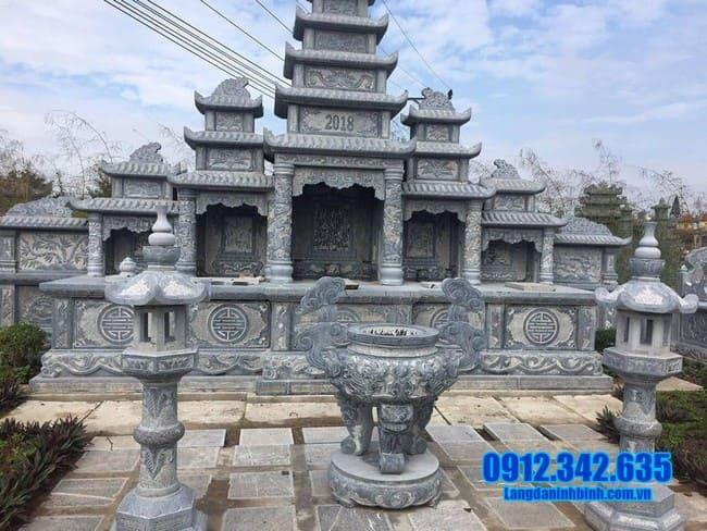 khu lăng mộ đá đẹp nhất tại Đồng Tháp