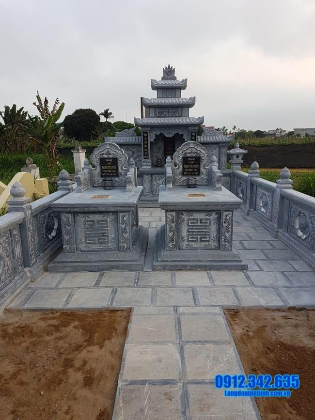 khu lăng mộ đá tại Đồng Tháp đẹp nhất