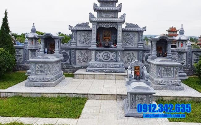 khu lăng mộ đá tại Đồng Tháp