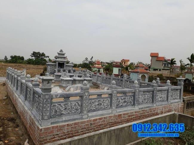 khu lăng mộ tại Đồng Tháp