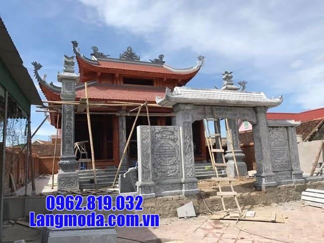 mẫu cổng nhà thờ tại Lạng Sơn