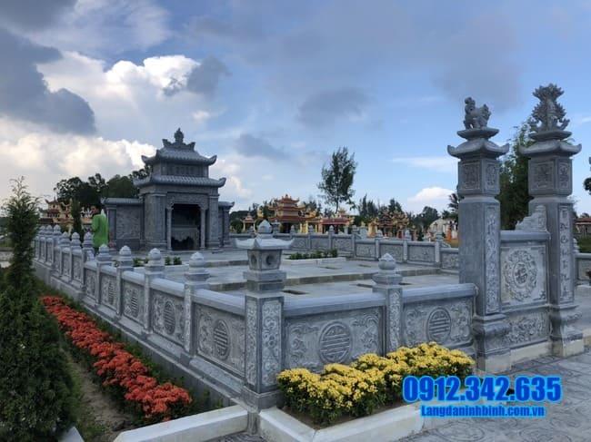 mẫu khu lăng mộ đá tại Đồng Tháp đẹp nhất
