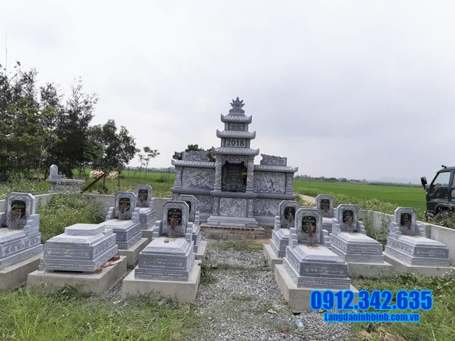 mẫu khu lăng mộ đá tại Đồng Tháp đẹp
