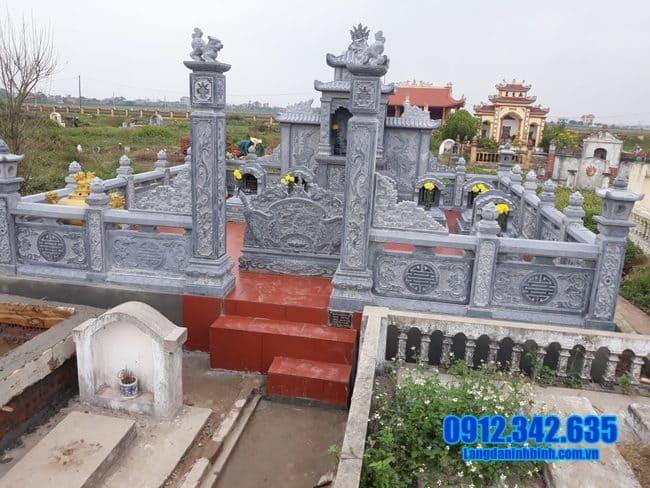 mẫu lăng mộ đá đẹp tại Đồng Tháp