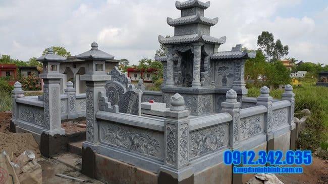 mẫu lăng mộ đá tại Đồng Tháp