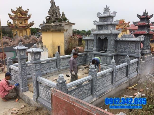 mẫu lăng mộ đẹp tại Đồng Tháp