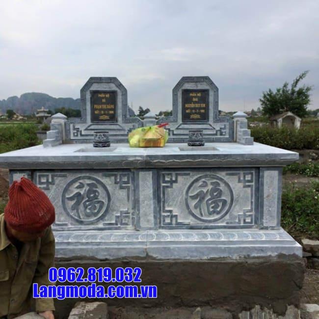 mộ đôi đẹp tại Bến Tre