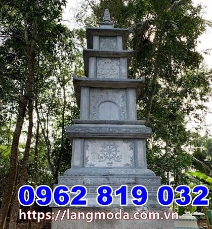 Mẫu tháp mộ đá đẹp để hũ tro cốt tại Bình Thuận
