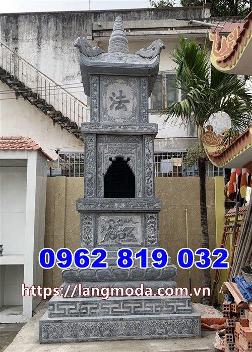 Mẫu tháp mộ đá đẹp để tro cốt tại Nha Trang Khánh Hòa