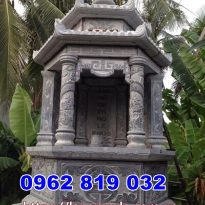 Mẫu tháp mộ để hũ tro cốt tại Vĩnh Long - Mộ đẹp để tro cốt Vĩnh Long