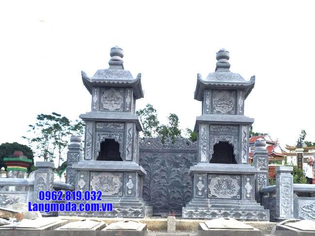 Mẫu tháp mộ đẹp bằng đá để thờ hũ tro cốt tại Quy Nhơn đẹp