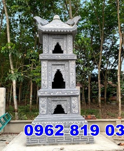 Mẫu tháp mộ đẹp để hũ tro cốt tại Bình Định;