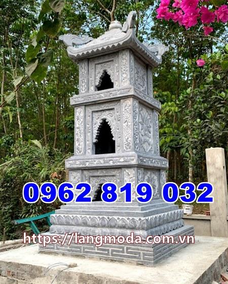 Mẫu tháp mộ đẹp để hũ tro cốt tại Tây Ninh