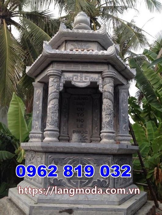 Mẫu tháp mộ đẹp thờ hũ tro cốt Sóc Trăng - Mộ đẹp để tro cốt Sóc Trăng